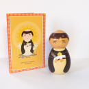 Saint Thomas Aquinas Shining Light Doll