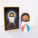 Divine Mercy Jesus Shining Light Doll