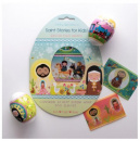 Saint Stories for Kids Easter Egg Wraps