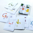 Alphabet Scripture Cards