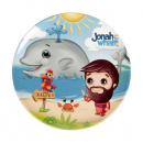 Jonah and the Whale Round Plate