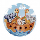 Noah's Ark Round Plate