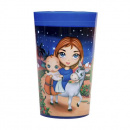 Christ is Born Plastic Tumbler Cup