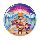 Moses Round Plate