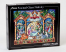 Stained Glass Nativity Jigsaw Puzzle (1000 Piece)