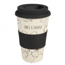 His Grace Is Enough Bamboo Travel Cup