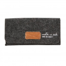 Felt Glasses Case - Walk In Faith And Not By Sight