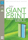 NIV Giant Print Compact Bible (Green/Blue)