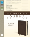 NIV, Holy Bible, Journal Edition, Imitation Leather, Brown Imitation Leather