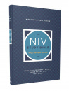 NIV Study Bible: Fully Revised Edition, Hardcover, Red Letter, Comfort Print