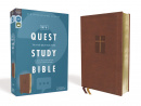 NIV Quest Study Bible (Brown): The Only Q and A Study Bible