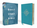 NIV Quest Study Bible (Teal): The Only Q and A Study Bible