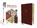 NIV Halley's Study Bible, Leathersoft Comfort Print: Making the Bible's Wisdom Accessible Through Notes, Photos, and Maps (Burgundy)