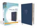 NIV Bible for Teens, Thinline Edition (Leathersoft, Blue, Red Letter Edition, Comfort Print)