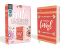 NIV Girls' Ultimate Backpack Bible: Faithgirlz Edition (Compact, Flexcover, Coral, Red Letter Edition, Comfort Print)