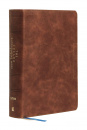 NIV Encouraging Word Bible (Brown)