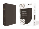 NET Bible, Full-notes Edition, Leathersoft, Black, Comfort Print: Holy Bible