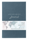 NET Love God Greatly Journal (Cloth over Board)