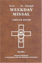 St. Joseph Weekday Missal, Complete Edition, Vol. 1