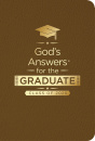 NKJV God's Answers for the Graduate: Class of 2020 (Brown)