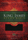 KJV Study Bible, Large Print, Thumb Indexed, Red Letter Edition: Second Edition (Black)