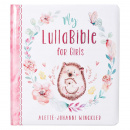 My LullaBible for Girls: Collection of 24 Lullabies for Baby Girls with Scripture | Padded Hardcover Gift Book
