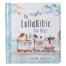 My LullaBible for Boys: Collection of 24 Lullabies for Baby Boys with Scripture | Padded Hardcover Gift Book