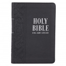 KJV Black Faux Leather Large Print Bible