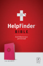 HelpFinder Bible NLT: God's Word at Your Point of Need (Pink)
