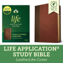NLT Life Application Study Bible, Third Edition with Updated Notes and Features (Brown)