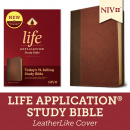 NIV Life Application Study Bible, Third Edition with Updated Notes and Features (Brown/Mahogany)