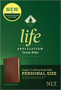 Personal Size NLT Life Application Study Bible, Third Edition (Brown/Mahogany)