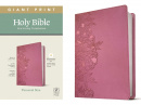 NLT Personal Size Giant Print Bible, Filament Enabled Edition (Peony Pink)
