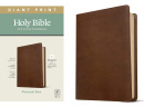 NLT Personal Size Giant Print Bible, Filament Enabled Edition (Rustic Brown)