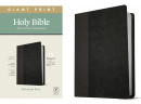 NLT Personal Size Giant Print Bible, Filament Enabled Edition (Black/Onyx)