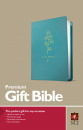 Premium Gift Bible NLT (Red Letter, LeatherLike, Teal)