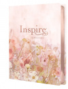 Inspire Catholic Bible NLT Large Print: The Bible for Coloring & Creative Journaling (LeatherLike, Pink)