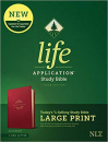 NLT Life Application Study Bible, Third Edition, Large Print (Berry)