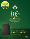 NLT Life Application Study Bible, Third Edition, Large Print (Black)
