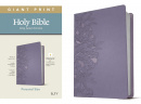 KJV Personal Size Giant Print Bible, Filament Enabled Edition (Peony Lavender)
