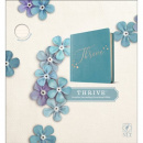 NLT THRIVE Creative Journaling Devotional Bible (LeatherLike, Teal)