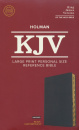 KJV Large Print Personal Size Reference Bible (Black)