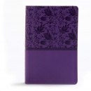 KJV Large Print Personal Size Reference Bible (Purple)