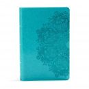 KJV Large Print Personal Size Reference Bible (Teal)