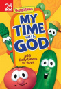 My Time with God: 365 Daily Devos for Boys (Veggie Tales)