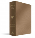 The Jeremiah Study Bible, ESV, Bronze LeatherLuxe®: What It Says. What It Means. What It Means for You.