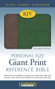 The Holy Bible: King James Version (Brown & Green) image