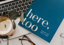 """Here, Too"" the 2020 Catholic Lent Devotional for Women"