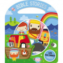 Bible Stories (Board Book with Handle)