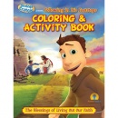 Brother Francis Presents:Following In His Footsteps (Coloring & Activity Book)